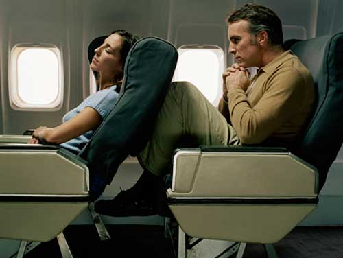 Airliner-cramped