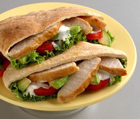 Aperitivos para todos los días, sándwich nutritivo