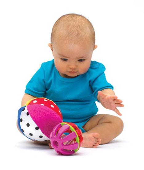 El control de la cabeza del bebe