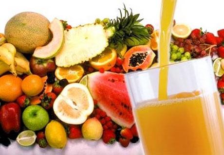 Zumo de frutas para quemar grasa
