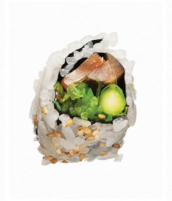 Sushi de vegetales