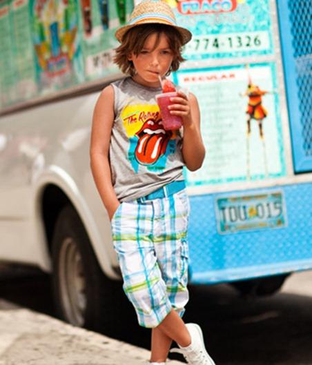 Catálogo H&M 2012, moda infantil H&M