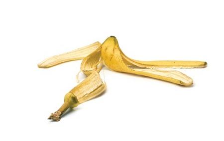Cuidar la piel con cáscara de banana