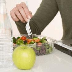 Consejos para llevar una dieta sana en el trabajo