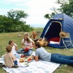 Ideas para acampar en familia