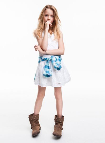 Moda infantil Zara 2012