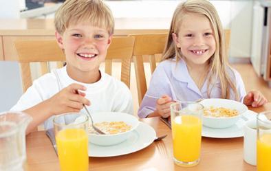 Ideas de desayunos saludables para niños