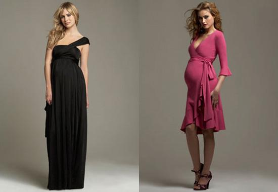 Vestidos de invitada de boda embarazada 2017 [FOTOS