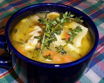 Dieta de la sopa de pollo