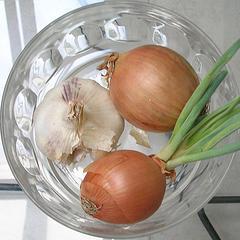 Remedio casero de cebolla y ajo para el asma