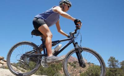 Entrenamiento para bicicleta de montaña