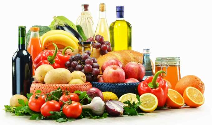 Alimentos mas importantes de la dieta mediterranea