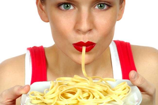 Comer pastas sin engordar