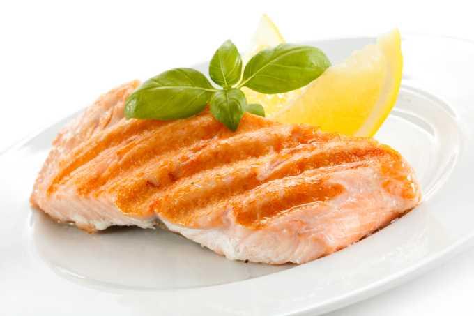 salmon en la dieta