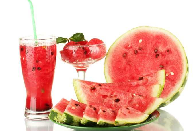Sandia sabor y salud en verano