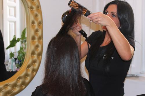 tratamiento de queratina o alisado brasileno