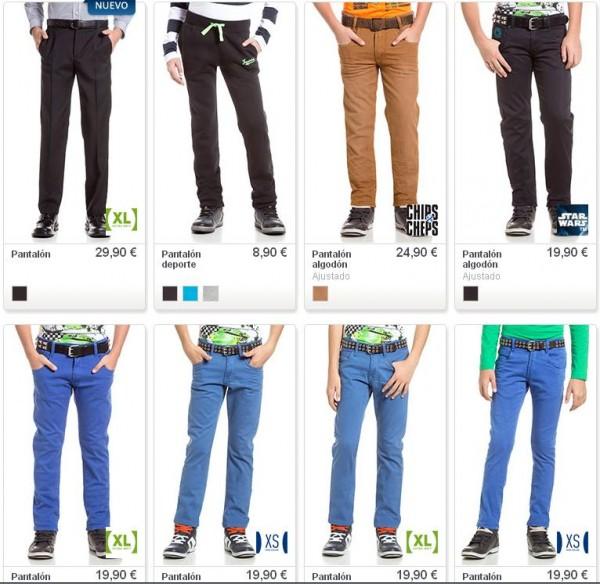 catalogo-c-y-a-niños-2014-pantalones-niños-0-16-anos