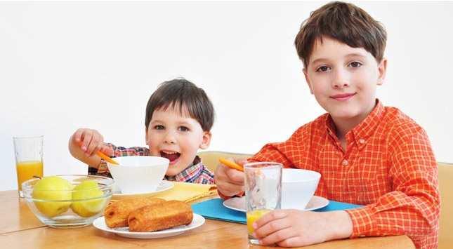Alimentacion saludable para ninos en edad escolar