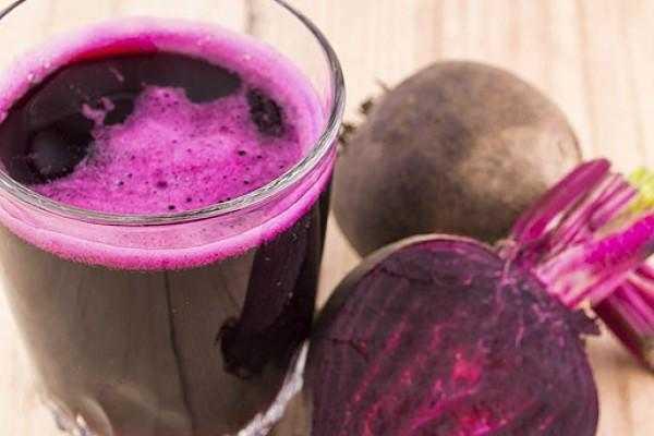 Perder peso con jugo de remolacha