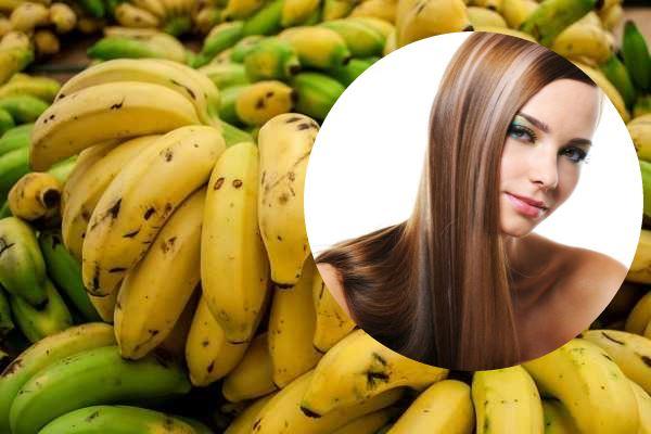 Beneficios del platano para el cabello