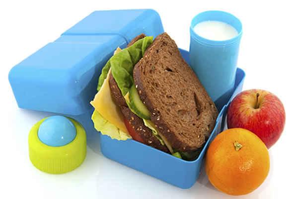Cenas saludables para ninos escolares