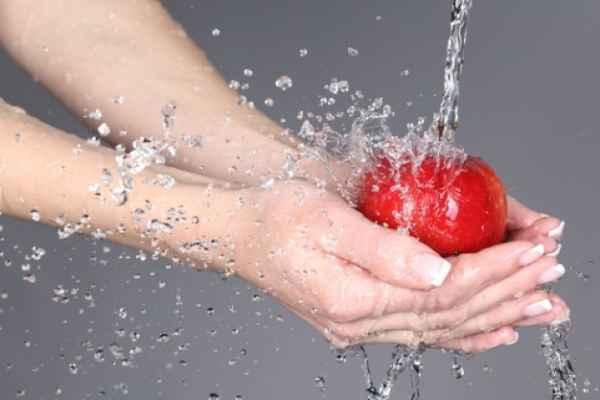 Eliminar pesticidas de frutas y verduras en casa