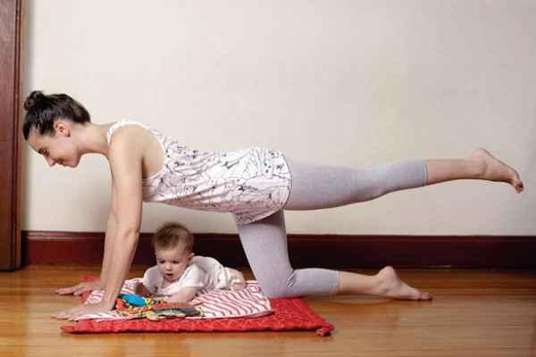 Cuando hacer ejercicios después del parto