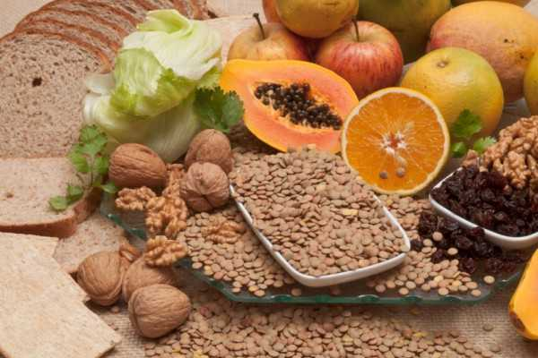 Lista de alimentos altos en fibra buena salud - Lista alimentos con gluten ...