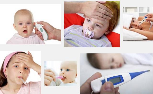 Como bajar fiebre en bebes de manera simple