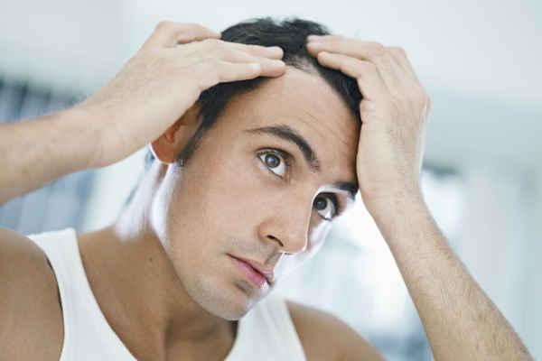 Frenar caida cabello hombre