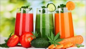 Cómo comenzar a tomar jugo de vegetales