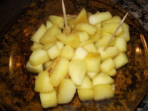 DSCF3831 recetas Tacos de Manzana con Reducción de Licor de Hierbas