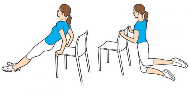 ejercicios con silla para hacer en casa buena salud