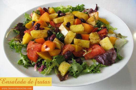Ensalada de frutas tropical Ensalada de frutas