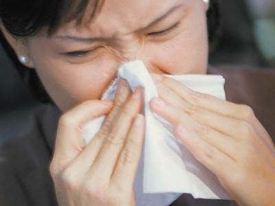 Las alergias.