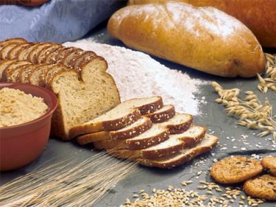 Consumo de pan.