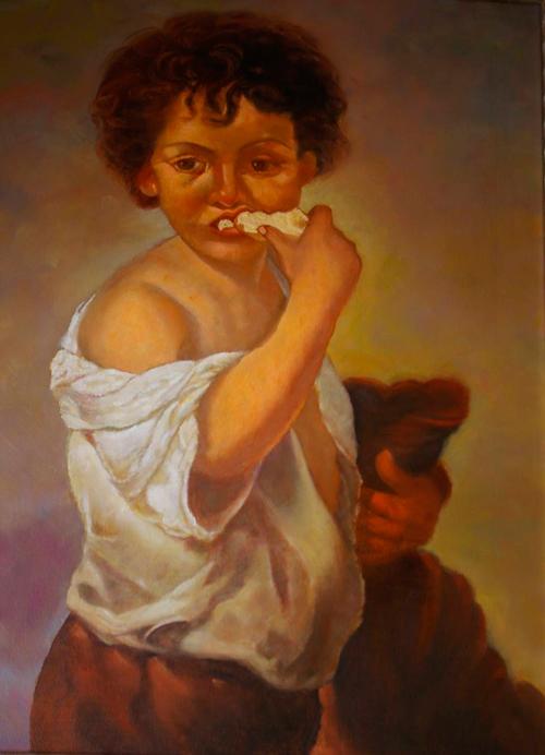 'Niño comiendo pan', Murillo