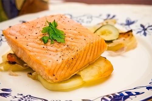 salmon receta Propiedades del salmón