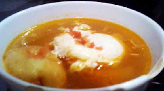 sopa castellana ajo Sopa castellana (sopa de ajo)