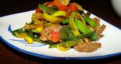 Receta de salteado de verduras al jengibre