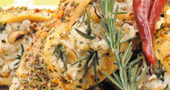 Receta para diabéticos: pollo en salsa de hierbas